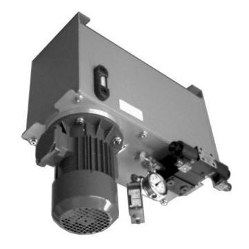 IDRAULICA 3 vie valvola di controllo di flusso con un eccesso di carro armato e valvola di sicurezza, RFP3 1/