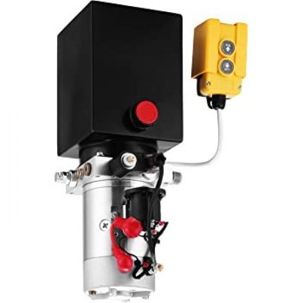 24Volt Pompa Idraulica Aggregato Per Ribaltabile Con E - Pannello di Controllo